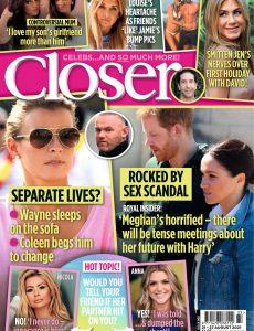 Closer UK – 25 August 2021