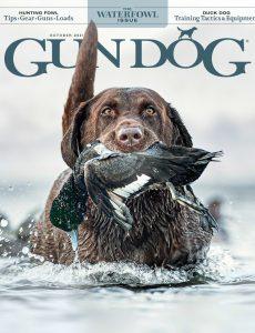 Gun Dog – October 2021