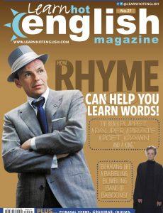 Hot English Magazine #231 (27) • August 2021