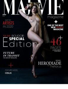 MALVIE Magazine – NUDE and Boudoir Special Edition – Vol 04 May 2020