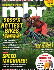 Mountain Bike Rider – September 2021