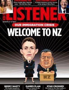 New Zealand Listener – August 21, 2021
