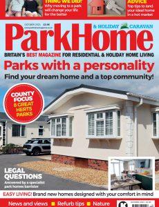 Park Home & Holiday Caravan – October 2021