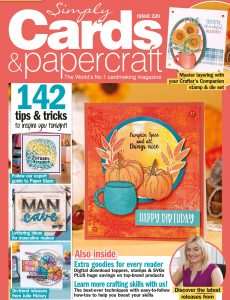 Simply Cards & Papercraft – Issue 220 – August 2021
