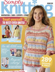 Simply Knitting – October 2021