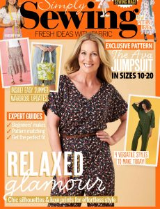 Simply Sewing – Issue 85 – August 2021