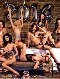 Playboy Der Playmate-Kalender 2014