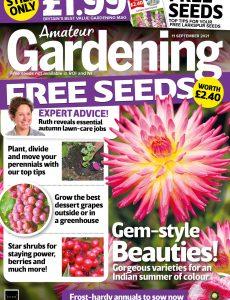 Amateur Gardening – 11 September 2021