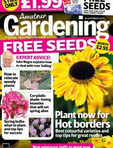 Amateur Gardening – 18 September 2021