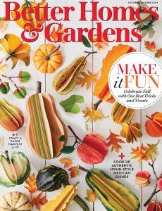 Better Homes & Gardens USA – October 2021
