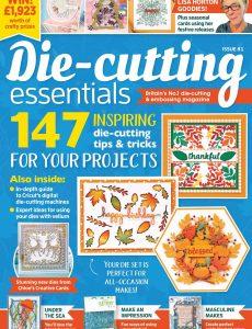 Die Cutting Essentials – Issue 81, 2021