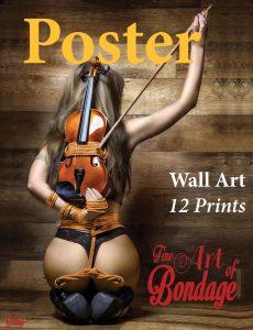 Fine Art of Bondage – 12 Bondage Poster Set 2017