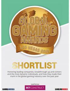 Gambling Insider – Global Gaming Awards Las Vegas 2021 Shortlist – 20 September 2021