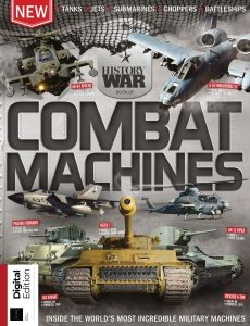 History of War Book of Combat Machines – 6th Edition ,2021