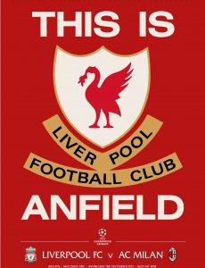 Liverpool FC Programmes – vs AC Milan – 15 September 2021