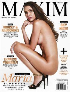 Maxim Australia – October 2021