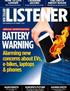 New Zealand Listener – September 25, 2021