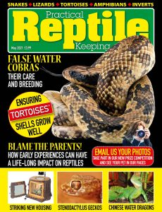 Practical Reptile Keeping – May 2021