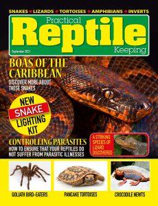Practical Reptile Keeping – September 2021