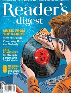 Reader's Digest UK – September 2021