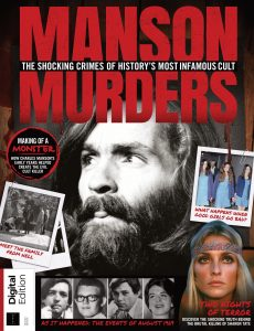 Real Crime Manson Murders – Second Edition, 2021