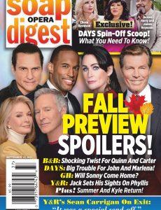 Soap Opera Digest – September 13, 2021
