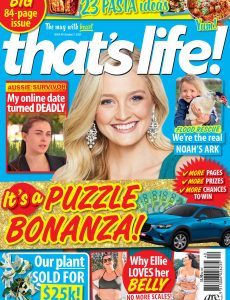 that's life! – October 07, 2021