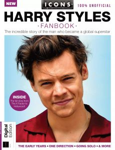 Icons Harry Styles FanBook – 3rd Edition, 2021