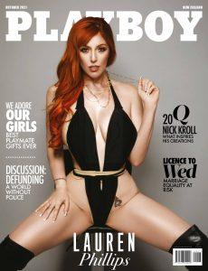 Playboy New Zealand – October 2021