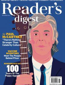 Reader's Digest UK – November 2021