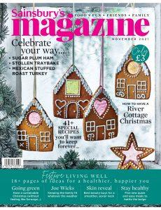 Sainsbury's Magazine – November 2021