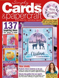 Simply Cards & Papercraft – Issue 223 – October 2021