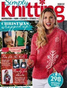 Simply Knitting – December 2021