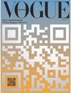 Vogue Singapore – September 2021